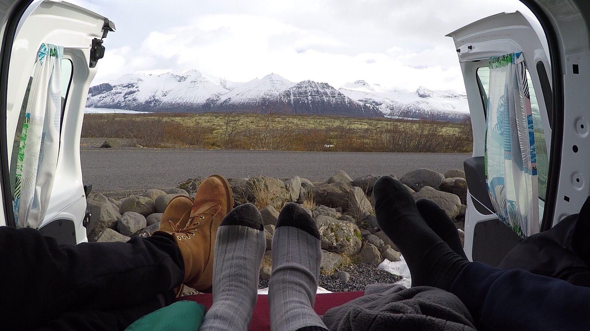 camper van travel iceland