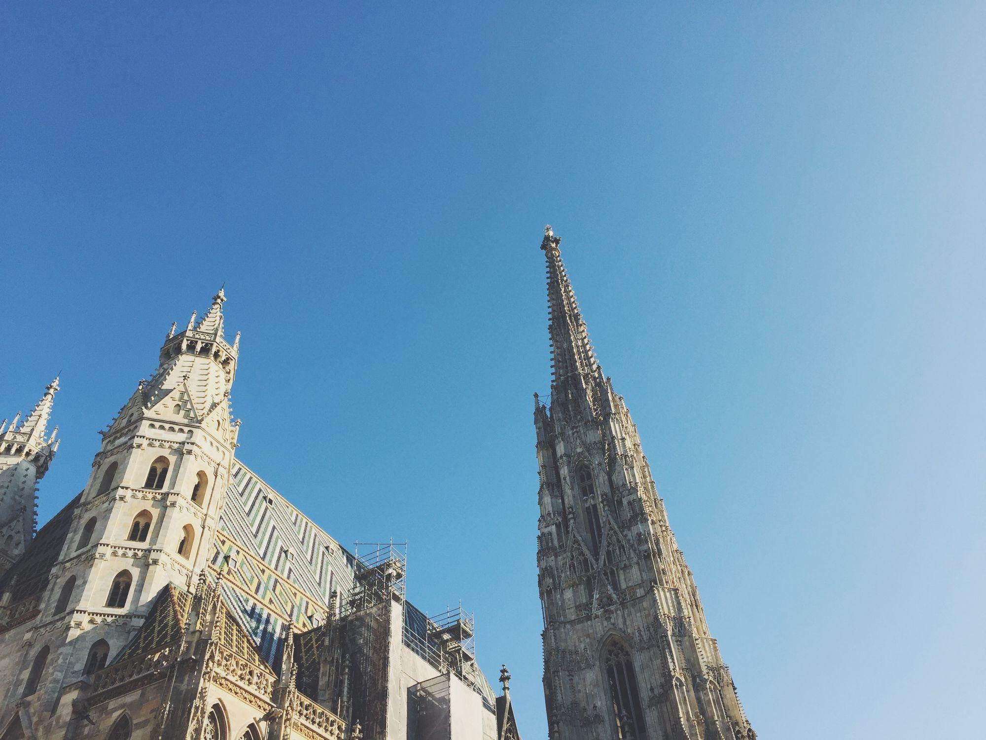 St. Stephen's Cathedral in Vienna, Austria.