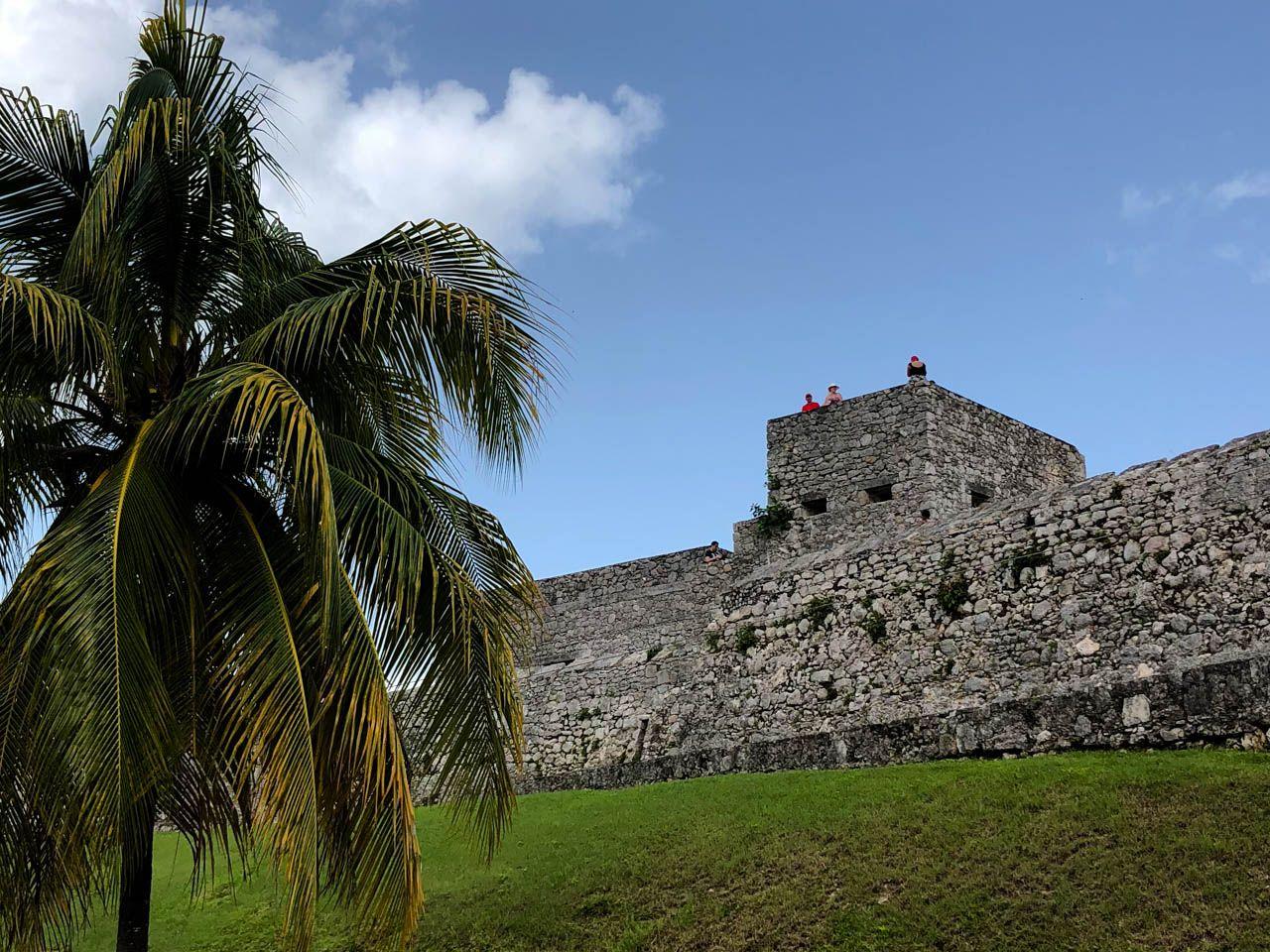 Fort San Felipe in Bacalar, Mexico.