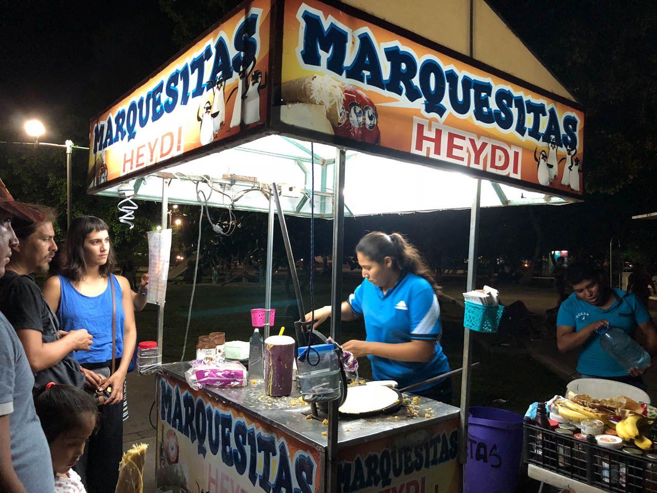 Marquesitas in Bacalar, Mexico.