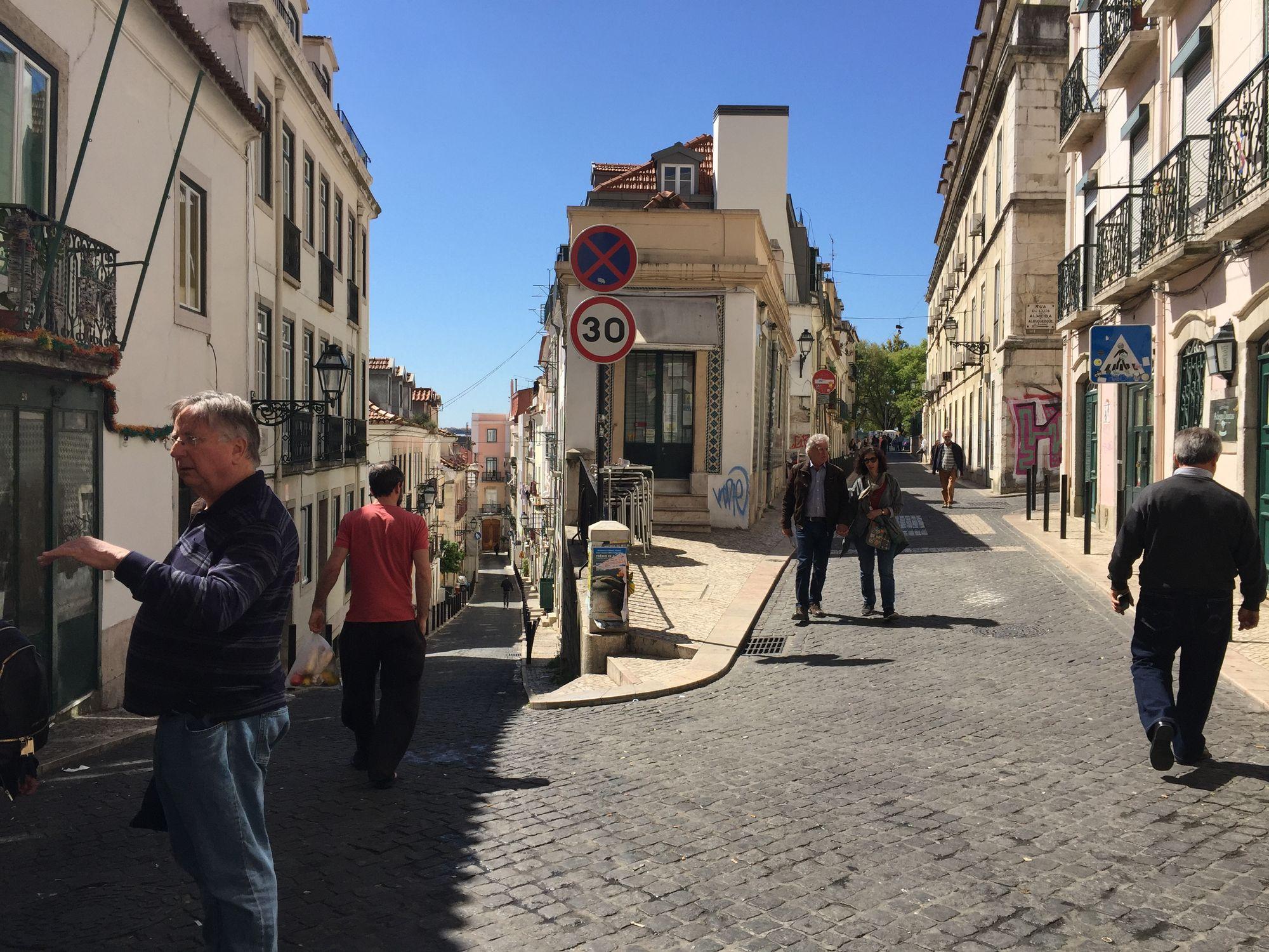 Lisbon, Portugal Street scene