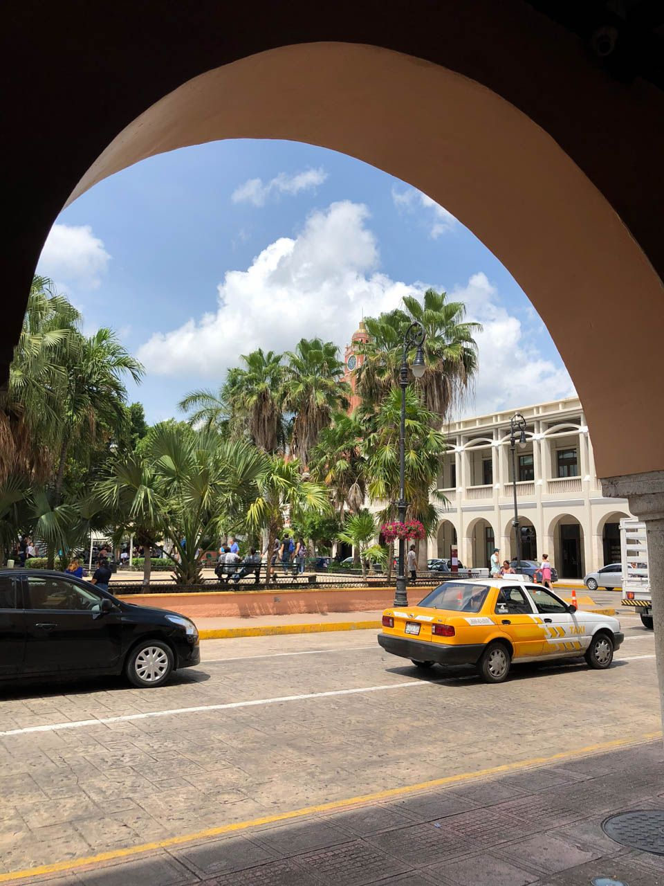 Merida, Mexico city center.