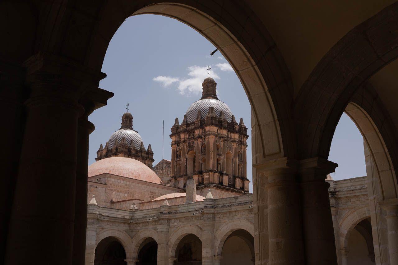 Santo Domingo in Oaxaca, Mexico.