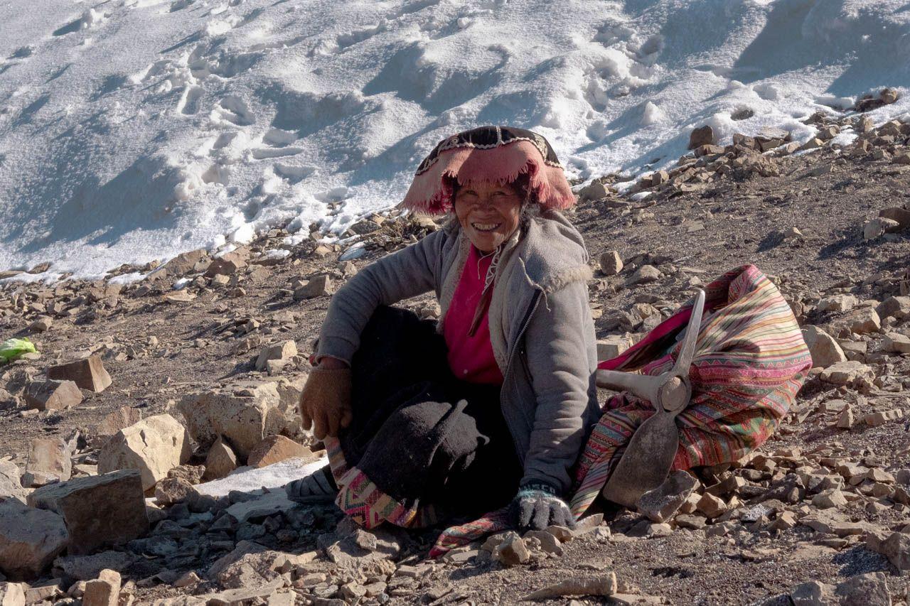 Local Peruvian on Rainbow Mountain