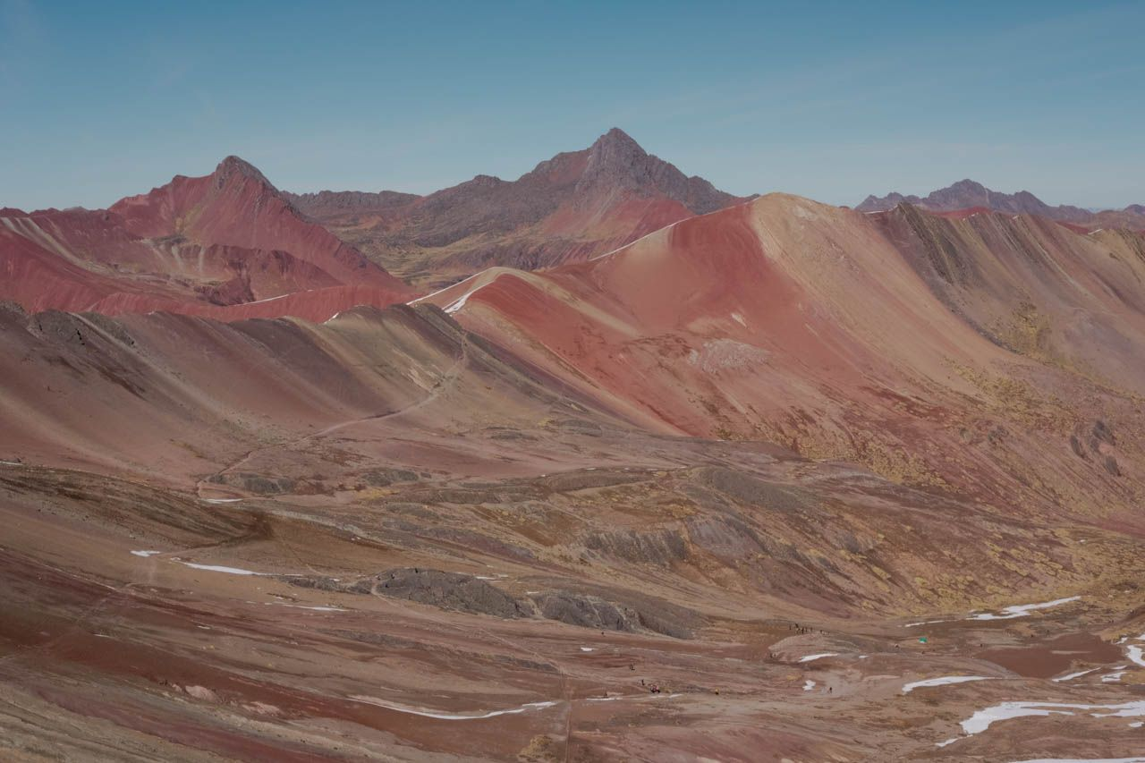 Rainbow Mountain, Peru.