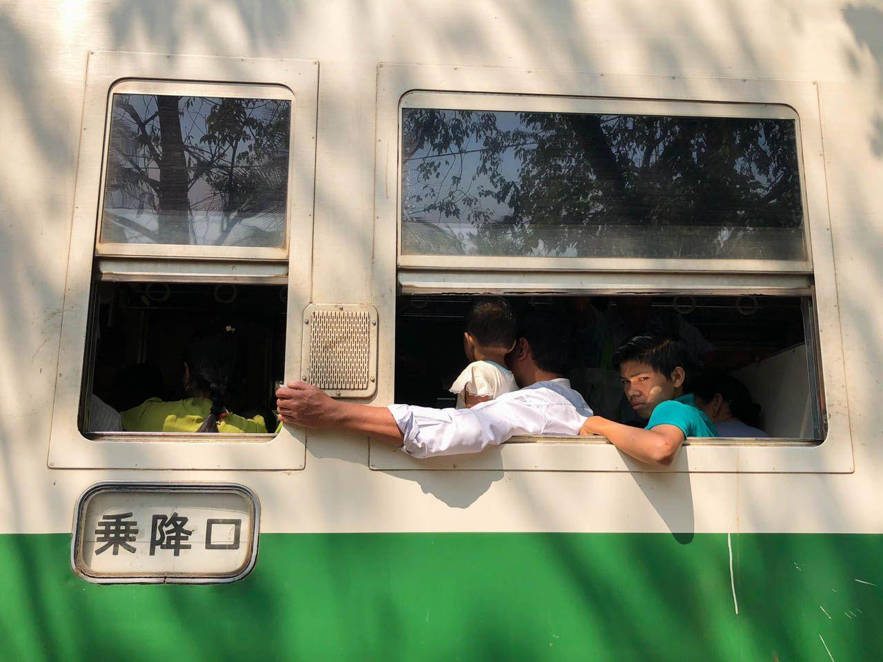 Yangon Circle Train.