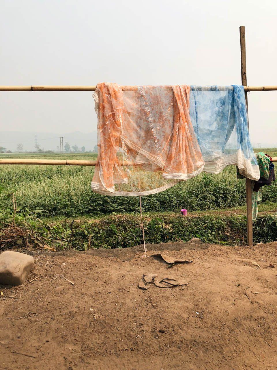 laundry in Hsipaw, Burma