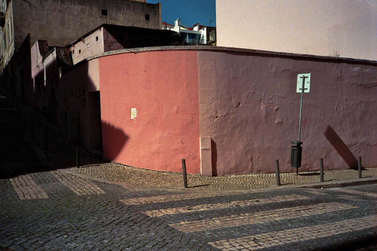 Street in Lisbon, Portugal.