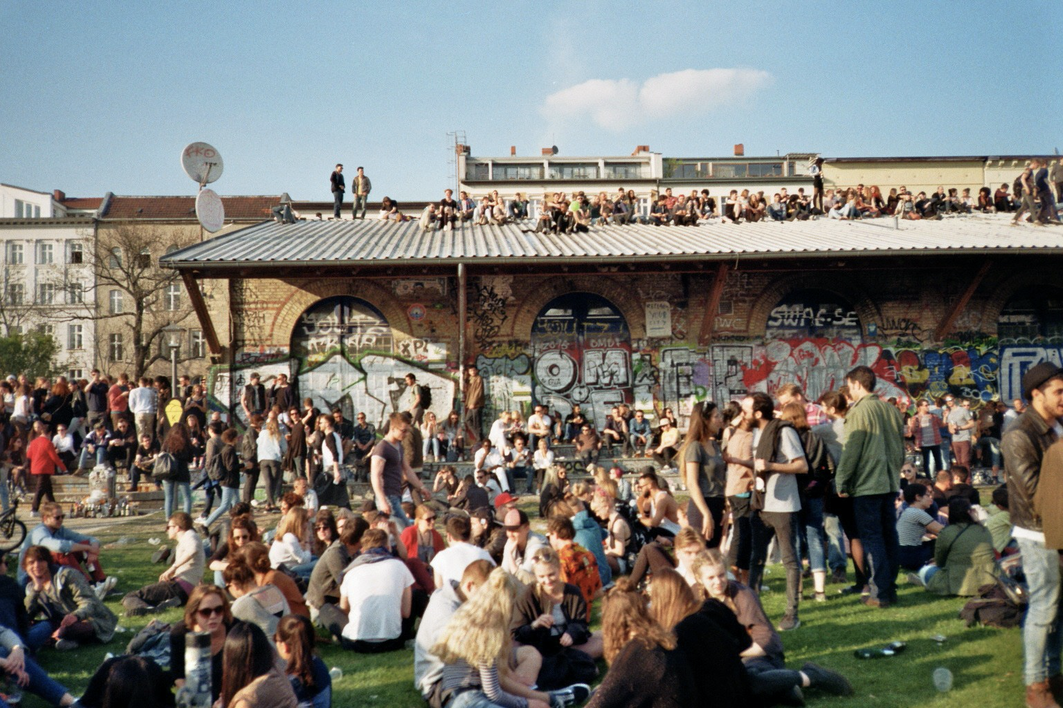 May 1st celebration in Berlin, Germany